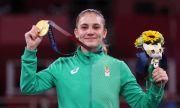 Председателят на НС Ива Митева поздрави олимпийската шампионка Ивет Горанова