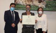 Княгиня Карла получи наградата за туризъм на сп. Airelibre