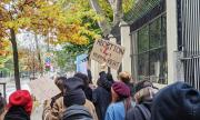 Протест пред полското посолство у нас заради забраната за аборти