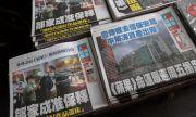 Закриват водеща опозиционна медия в Хонконг