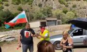 Протест блокира пътя към ГКПП