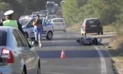 Двама сериозно пострадали при тежка катастрофа край Китен