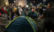 СДВР: Протестиращите събираха бутилки и се канеха да ги използват срещу нежелани хора