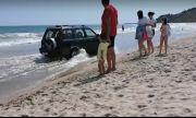 Пиян училищен директор сътвори истински екшън на плажа в Кранево (ВИДЕО)