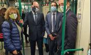 Четирима депутати отидоха на работа с метрото