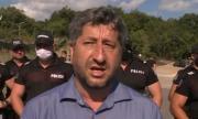 Полицията не допусна протеста на Христо Иванов до