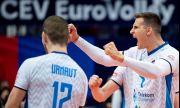 Словения е полуфиналист на Евроволей 2021 след триумф над един от домакините