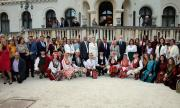 Цар Симеон и царица Маргарита бяха домакини на  ревю на традиционни костюми от 14 страни