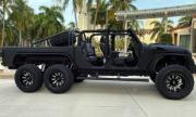 Чудовищен Jeep 6х6 с двигател от Corvette