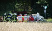 Два самолета се сблъскаха над Германия