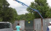 Помпа за бетон уби работник