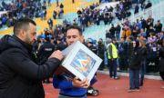 Живко Миланов: Феновете много ни помогнаха да обърнем мача с Черно море