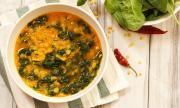 Рецепта за вечеря: Спаначена супа