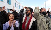 Масови протести в Тунис