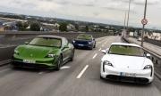 Китайци ще произвеждат евтини електромобили с платформа от Porsche Taycan