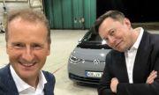 Планира ли Tesla да купи Volkswagen? (ВИДЕО)