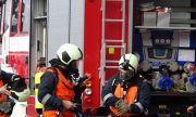 Пожар избухна между Хисар и с. Черничево