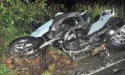 Мотоциклетист в кома, преобърна се край Каварна