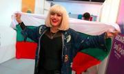 Жана Бергендорф дари 1000 лв на децата на Милен Цветков