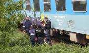 Влак помете автомобил на жп прелез, има загинал