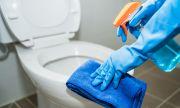 Прост трик за почистване на тоалетната чиния до блясък