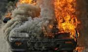 Две коли горяха в Кресна