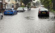 Проливни дъждове наводниха Лондон