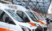 Козирка на жилищен вход се срути върху човек в София