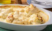 Рецепта на деня: Хрупкав печен карфиол с бял сос