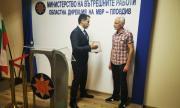 МВР награди гражданин, помогнал за залавянето на крадец