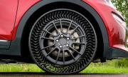 Нова автомобилна гума, която не се надува и не може да се спука
