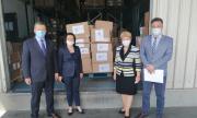 България дари 200 комплекта защитни облекла на Черна гора