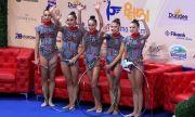 Ансамбълът ни по художествена гимнастика спечели още куп медали