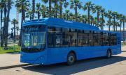 Първи тестове на новия руски автобус VOLGABUS
