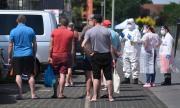 Протест пред кланица в Германия