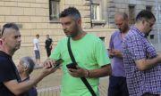 Протестиращ твърди, че полицаите са носели