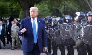 Полицейски началник в САЩ към Тръмп: Дръж си устата затворена!