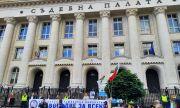 Иван Гешев проби блокадата на Съдебната палата