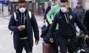 Лудогорец пристигна в Милано с маски
