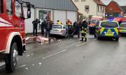 Шофьорът в Германия умишлено е прегазил деца