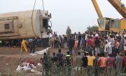 Ранени близо 100 души при влакова катастрофа (СНИМКИ)