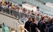 Адекватна намеса на полицията предотврати разрастване на напрежението на Локо Сф - Славия