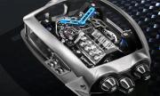 Ръчен часовник с двигател от Bugatti (ВИДЕО)