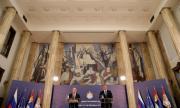 Русия и Сърбия показват голямо приятелство