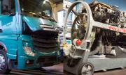 Основен ремонт на двигателя на Mercedes-Benz Actros в 9 минути (ВИДЕО)