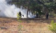 Локализираха големия пожар в Старозагорско
