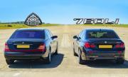 Maybach срещу BMW 760Li (ВИДЕО)