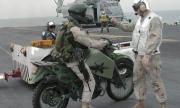Новите дизелови мотоциклети на морските пехотинци