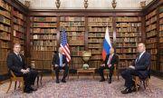 Путин и Байдън доволни от срещата