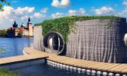 Построиха плаваща къща на 3D принтер (СНИМКИ)